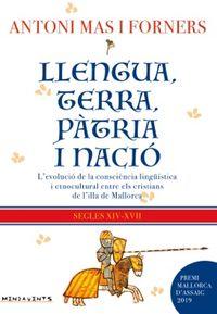 LLENGUA, TERRA, PATRIA I NACIO