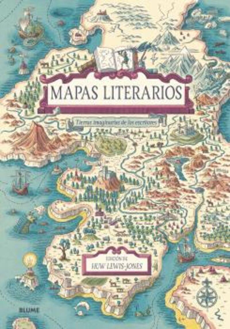 MAPAS LITERARIOS (2021) - TIERRAS IMAGINARIAS DE LOS ESCRITORES