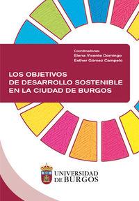 LOS OBJETIVOS DE DESARROLLO SOSTENIBLE EN LA CIUDAD DE BURGOS