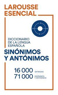 diccionario esencial de sinonimos y antonimos - Aa. Vv.