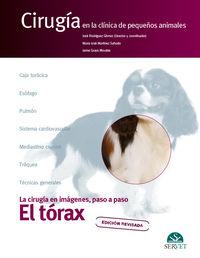 EL TORAX - CIRUGIA EN LA CLINICA DE PEQUEÑOS ANIMALES