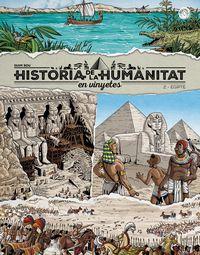HISTORIA DE LA HUMANITAT EN VINYETES 2 - EGIPTE