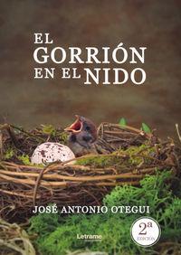 EL GORRION EN EL NIDO