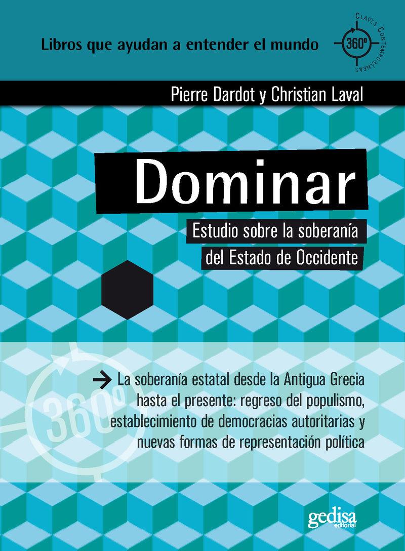 DOMINAR - ESTUDIO SOBRE LA SOBERANIA DEL ESTADO DE OCCIDENTE