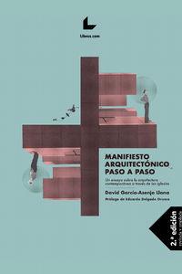 (2 ED) MANIFIESTO ARQUITECTONICO PASO A PASO