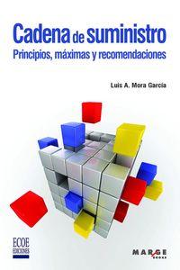 CADENA DE SUMINISTRO. PRINCIPIOS, MAXIMAS Y RECOMENDACIONES