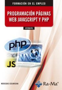 FE - PROGRAMACION PAGINAS WEB JAVASCRIPT Y PHP - IFCT091PO