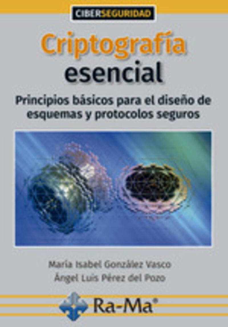 CRIPTOGRAFIA ESENCIAL - PRINCIPIOS BASICOS PARA EL DISEÑO DE ESQUEMAS Y PROTOCOLOS SEGUROS