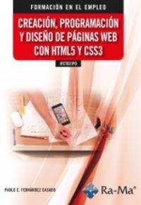 CP - CREACION, PROGRAMACION Y DISEÑO DE PAGINAS WEB CON HTML5 Y CSS3 - IFCT031PO