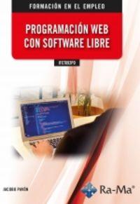 CP - PROGRAMACION WEB CON SOFTWARE LIBRE - IFCT092PO