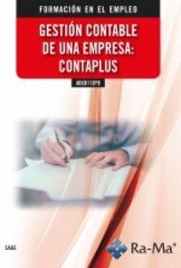 CP - GESTION CONTABLE DE UNA EMPRESA: CONTAPLUS - ADGD113PO