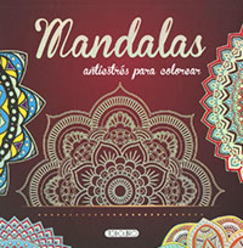 MANDALAS ANTIESTRES PARA COLOREAR (T5051001)