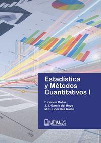 ESTADISTICAS Y METODOS CUANTITATIVOS I