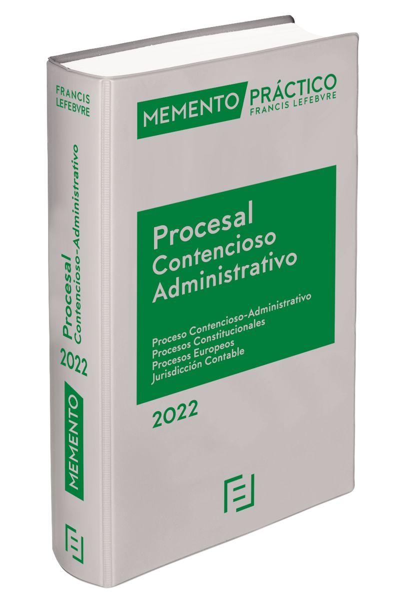 MEMENTO PRACTICO PROCESAL CONTENCIOSO ADMINISTRATIVO 2022