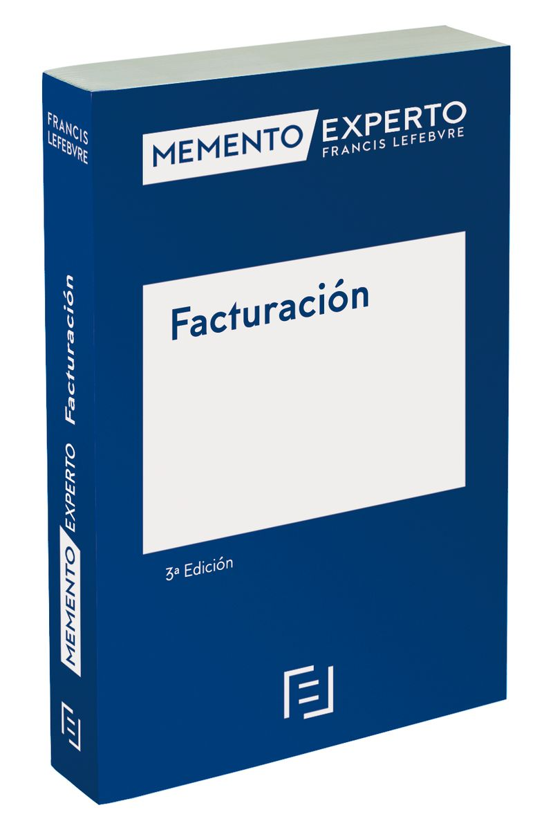 (3 ED) MEMENTO EXPERTO FACTURACION