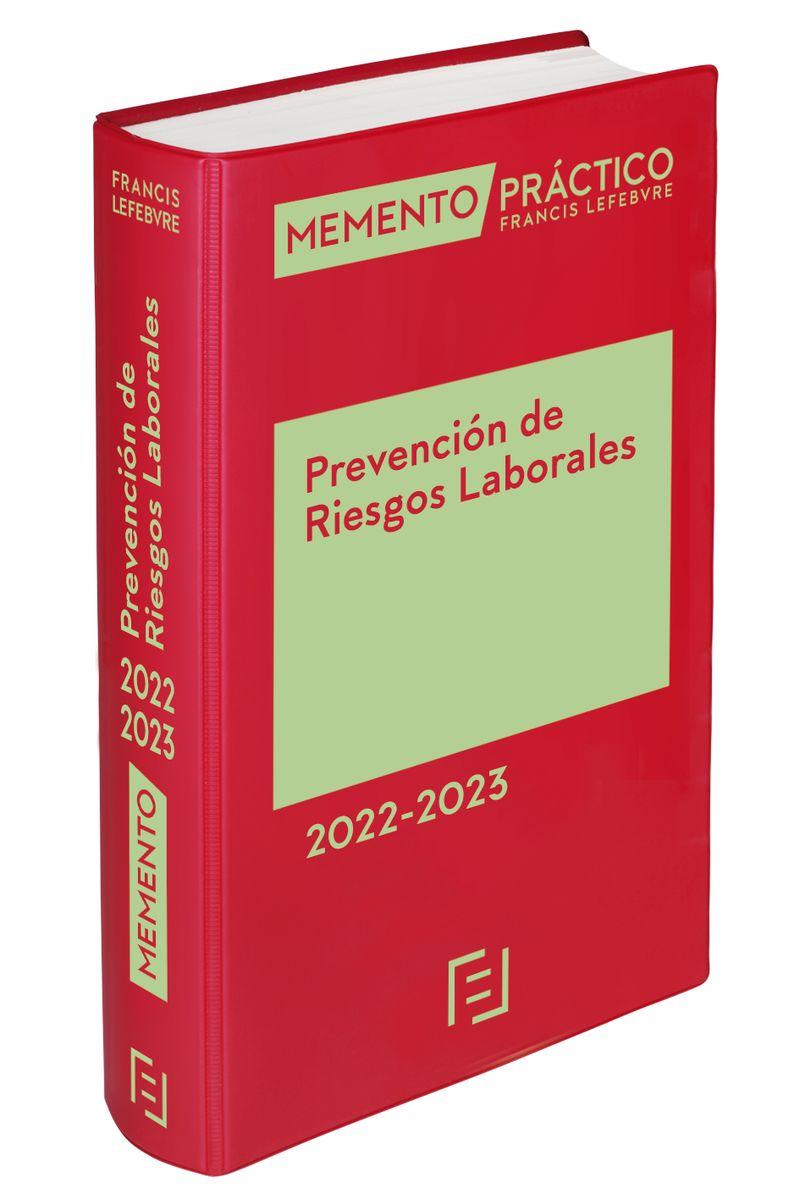 MEMENTO EXPERTO PREVENCION DE RIESGOS LABORALES 2022-2023