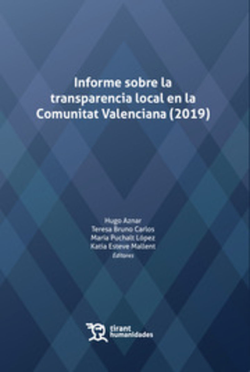 Informe sobre la transparencia local en la Comunitat Valenciana (2019)