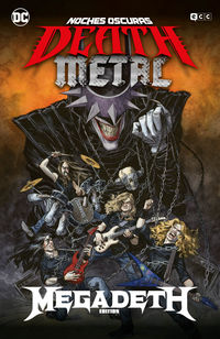 NOCHES OSCURAS: DEATH METAL 1 (MEGADETH BAND EDITION) (CARTONE)