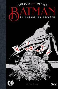 BATMAN: EL LARGO HALLOWEEN - EDICION DELUXE LIMITADA BLANCO Y NEGRO