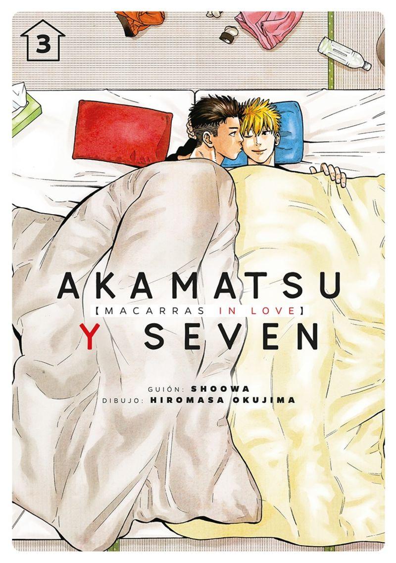 AKAMATSU Y SEVEN, MACARRAS IN LOVE 3