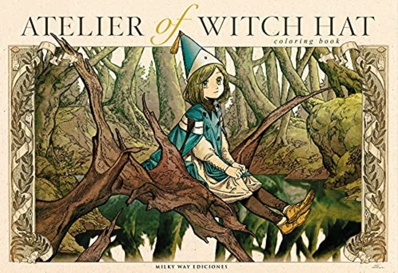 ATELIER OF THE WITCH HAT - COLORING BOOK