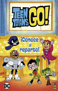 TEEN TITANS GO! - CONOCE AL REPARTO