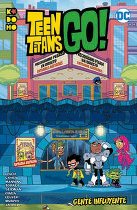 TEEN TITANS GO! - GENTE INFLUYENTE