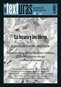 TEXTURAS 45 - LA LOCURA Y LOS LIBROS