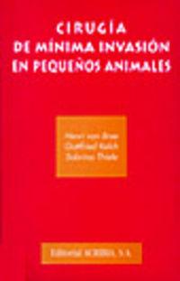 Cirugia De Minima Invasion En Pequeños Animales - Henri Van Bree