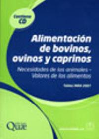 ALIMENTACION DE BOVINOS, OVINOS Y CAPRINOS