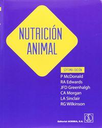 (7ª Ed) Nutricion Animal - Aa. Vv.