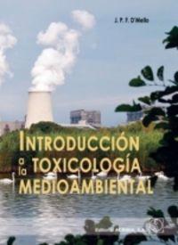 INTRODUCCION A LA TOXICOLOGIA MEDIOAMBIENTAL