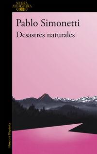 Desastres Naturales (mapa De Las Lenguas) - Pablo Simonetti