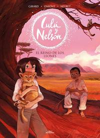 EL REINO DE LOS LEONES (LULU Y NELSON 2)