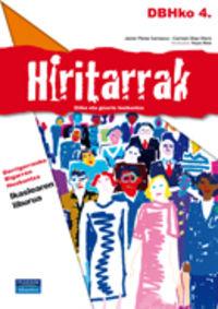 DBH - ETIKA ETA HIRITARTASUNA 4 - HIRITARRAK