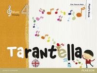EP - MUSICA 4 (INGLES) - TARANTELLA