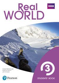 eso 3 - real world 3 (+book access code) - Carolyn Barraclough / Suzanne Gaynor