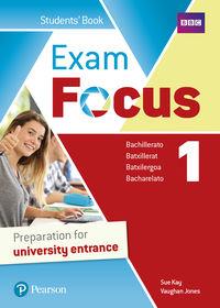 BACH 1 - EXAM FOCUS 1 (+BOOK ACCESS CODE)