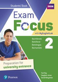 BACH 2 - EXAM FOCUS 2 (+MYENGLISHLAB ACCESS CODE)