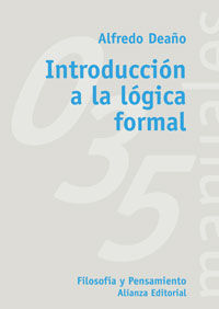 INTRODUCCION A LA LOGICA FORMAL