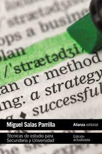 Tecnicas De Estudio Para Secundaria Y Universidad - Miguel Salas Parrilla