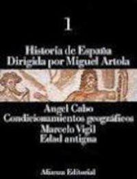 HISTORIA DE ESPAÑA 1 - CONDICIONAMIENTOS GEOGRAFICOS - EDAD ANTIGUA