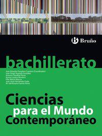 BACH 1 - CIENCIAS PARA EL MUNDO CONTEMPORANEO (ANDALUCIA)