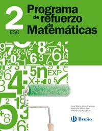 Eso 2 - Matematicas Cuad. - Programa Refuerzo - Aa. Vv.