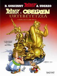 Asterix Eta Obelixen Urtebetetzea - Urrezko Liburua - Rene Goscinny