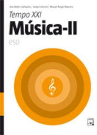 ESO 3 / 4 - MUSICA II - TEMPO XXI (CAT, BAL)