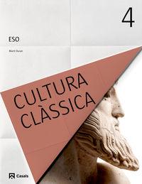 eso 4 - cultura classica ii (bal, cat, c. val) - Aa. Vv.