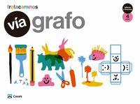4 Años - Via Grafo - Talleres Y Rincones - Trotacaminos - Aa. Vv.