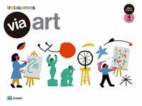 4 ANYS - VIA ART - TALLERS I RACONS - TROTACAMINS (BAL, CAT, C. VAL)