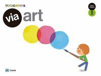 5 ANYS - VIA ART - TALLERS I RACONS - TROTACAMINS (BAL, CAT, C. VAL)